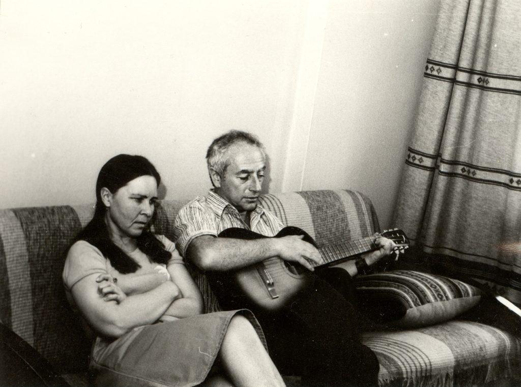 Со Светланой Барановой, 80-е годы