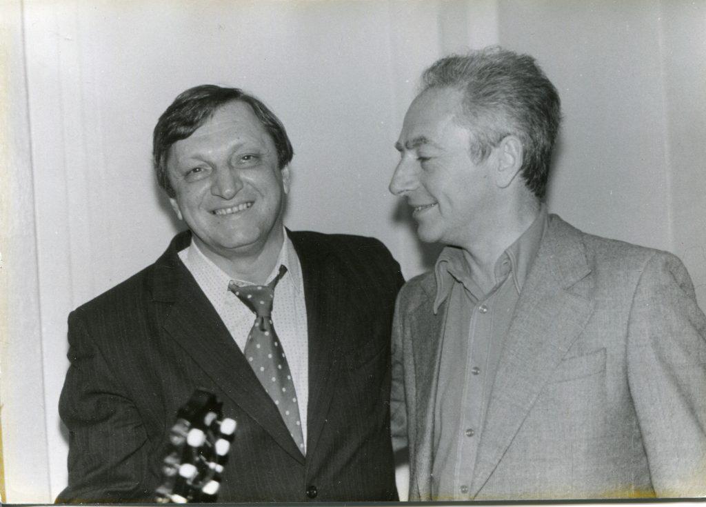 С Виктором Берковским