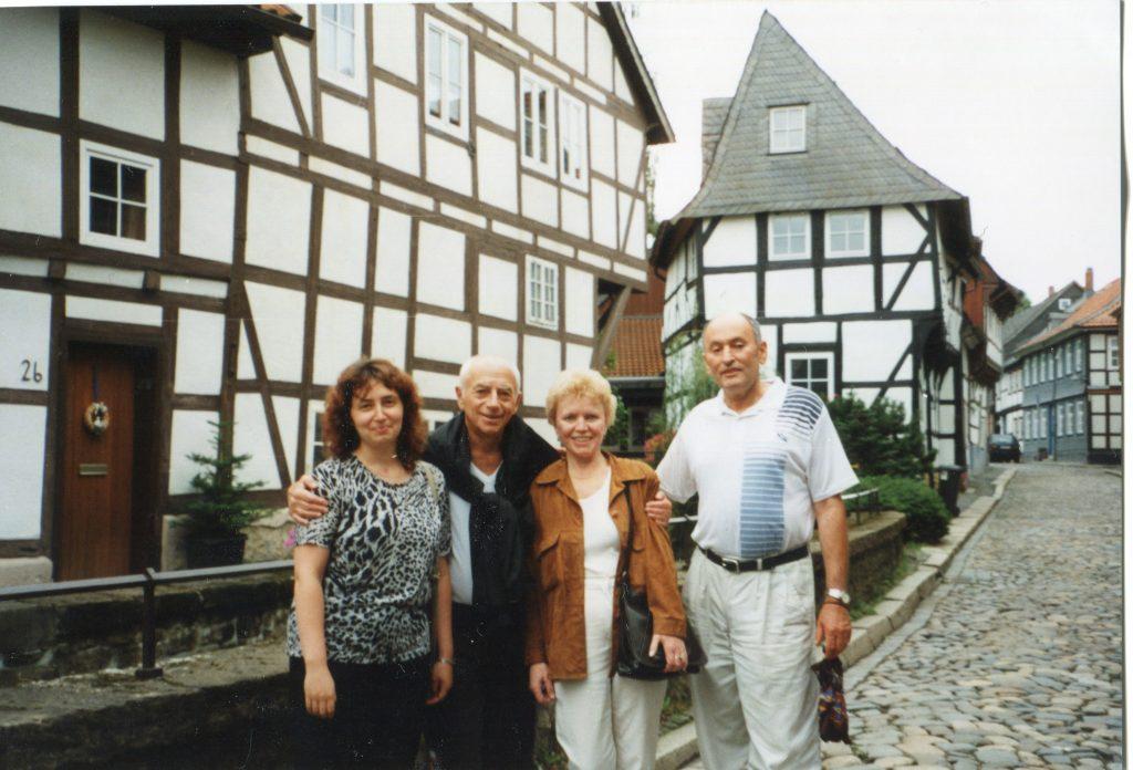 2002 год, Германия. С Владимиром Лозовским и его друзьями