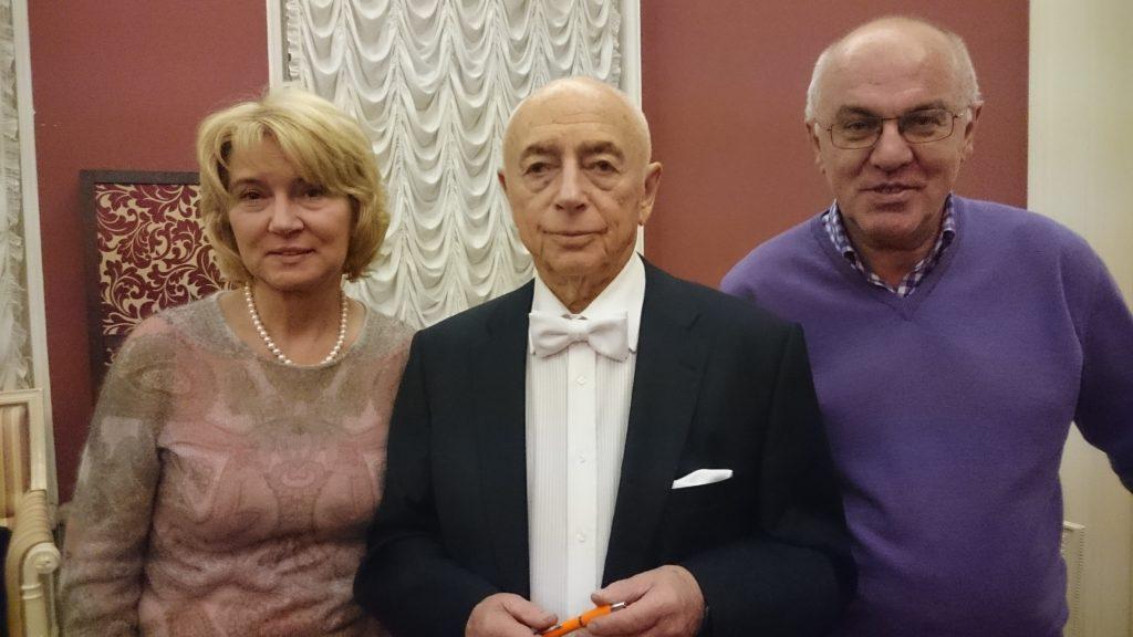 С Мариной и Сергеем Васильевыми, Санкт-Петербург, 12.12.2016