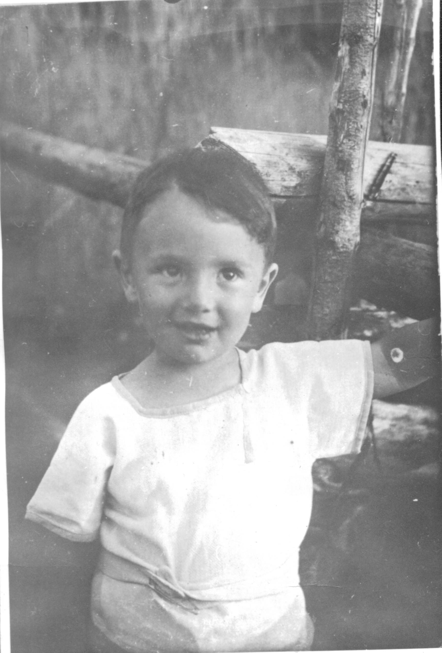 Саша Городницкий, 1936 год, Белоруссия