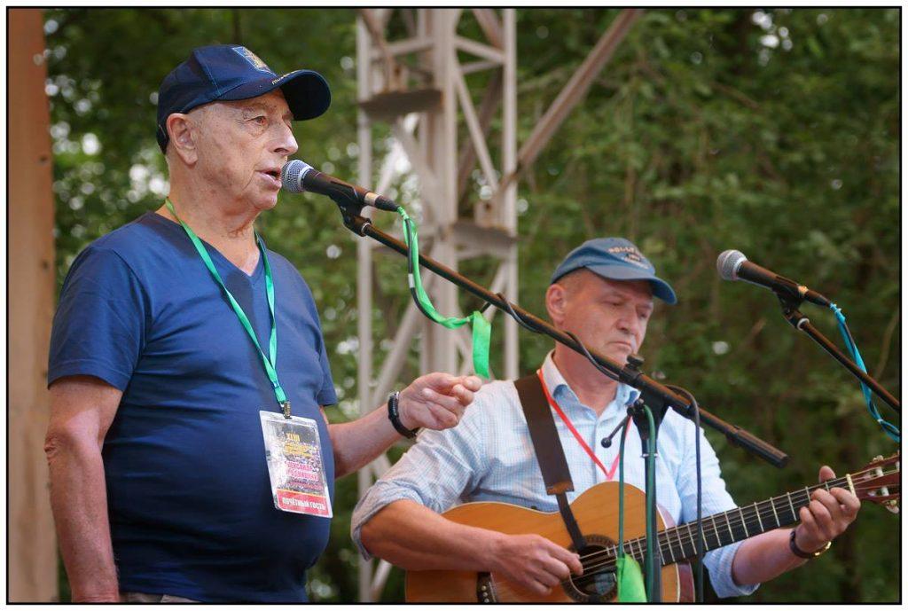 На Грушинском фестивале, 2016 год
