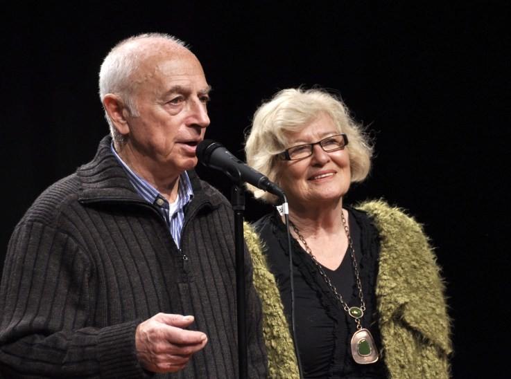 С Джуди Холовей, Новая Зеландия, 2009 год
