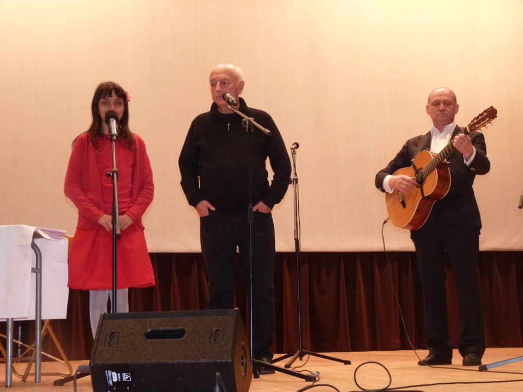 С Анной Контуш и Валерием Чечетом, Париж, 04.05.2016