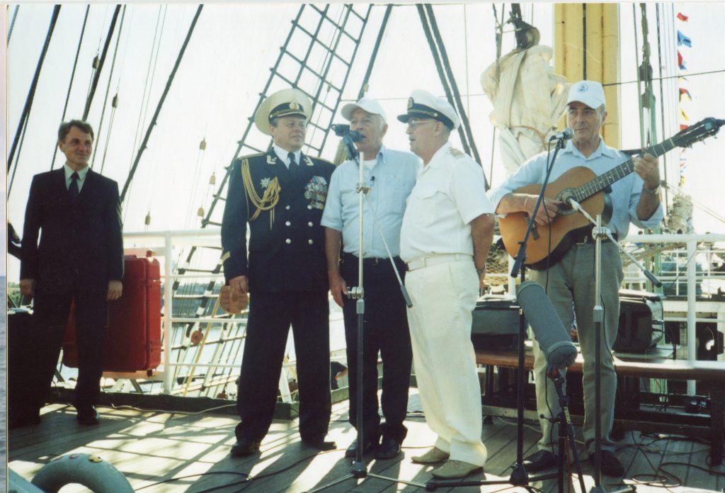 Концерт на палубе «Крузенштерна», Санкт-Петербург, 08.08.2006