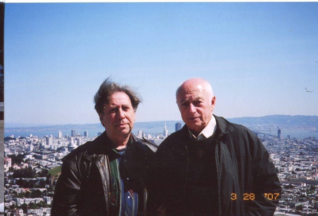 С Анатолием Рыжиковым, Калифорния, 2007 год