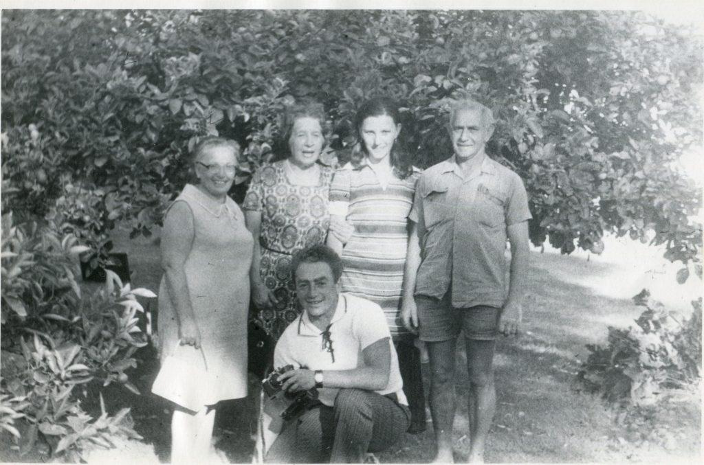 Научные сотрудники НИО РАН. 3-й рейс НИС «Дмитрий Менделеев», 1970 год