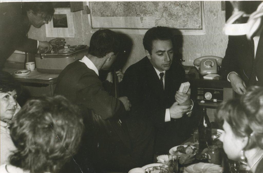 1972 год, Москва, слева Слава Матвеев