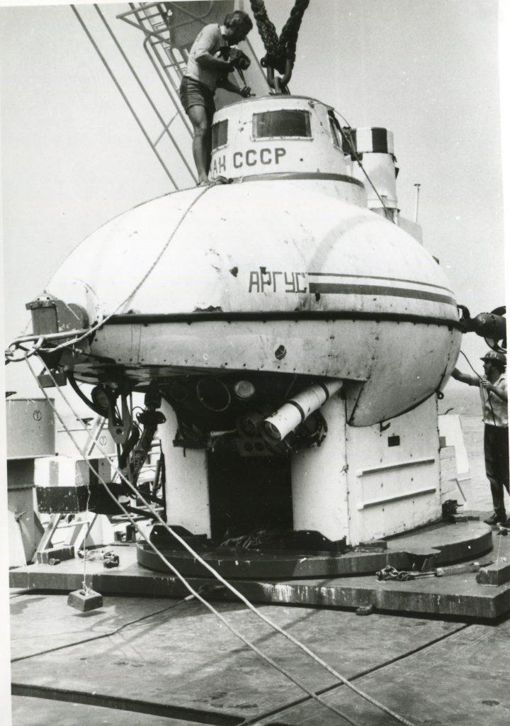 Подводный обитаемый аппарат «Аргус», 1984 год
