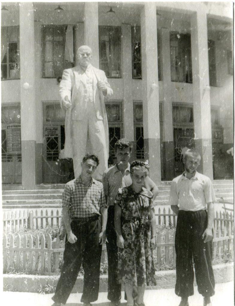 Сталинабад, 1955 год
