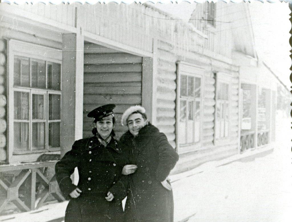 Александр Городницкий, 1957 год