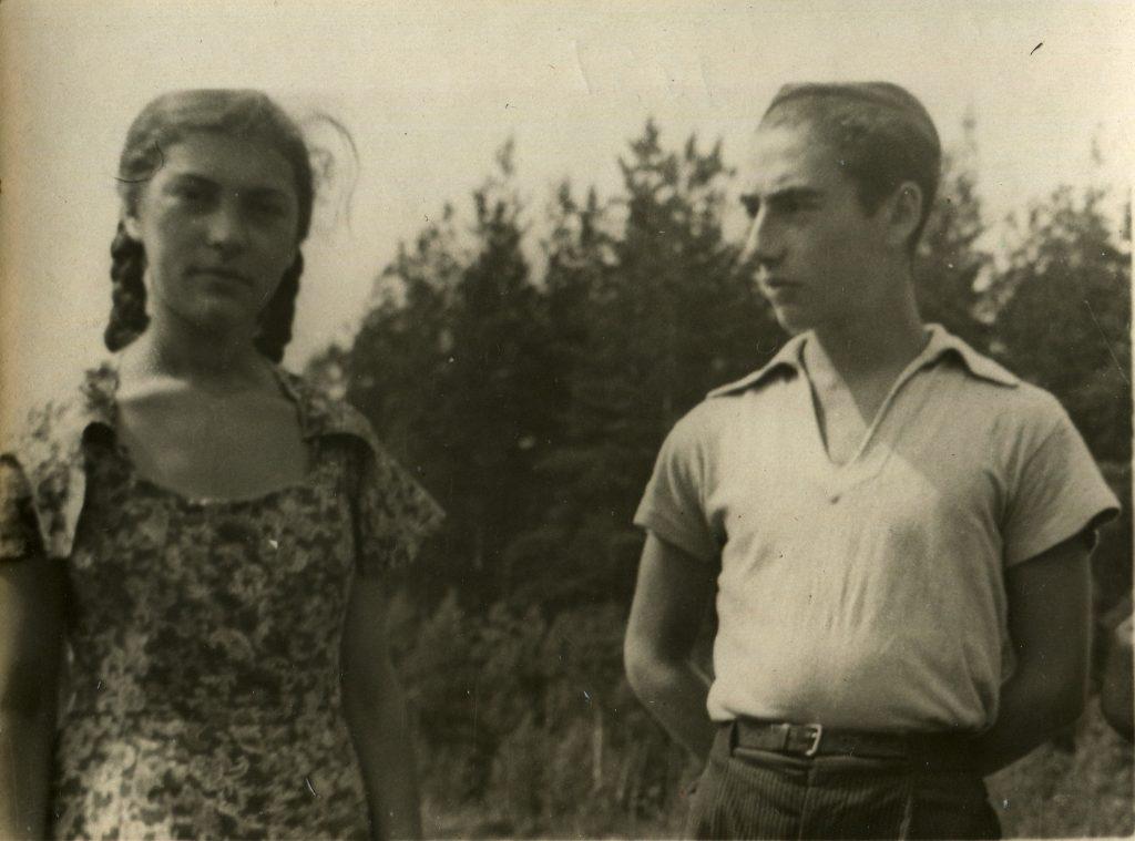 Александр Городницкий, 1951год
