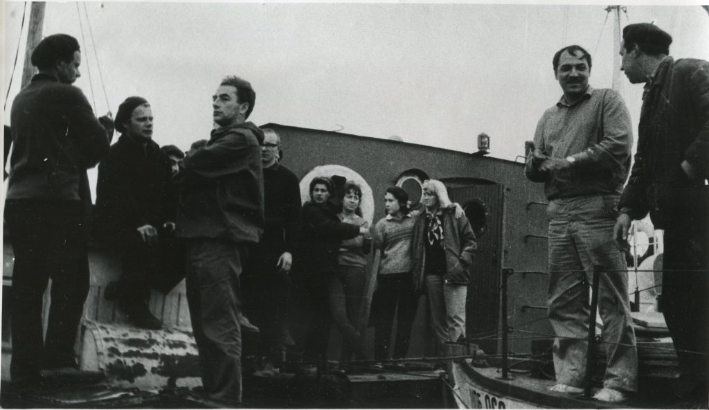 Александр Городницкий, Белое море, 1969 год