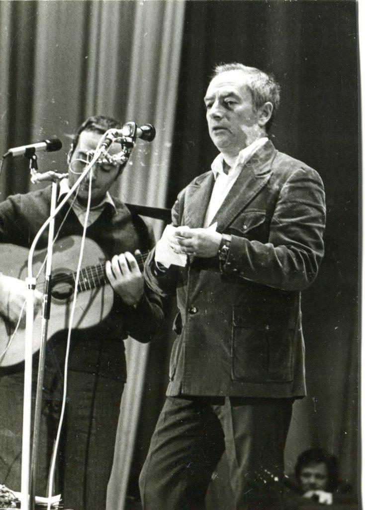Юбилей Александра Городницкого в клубе «Восток», Ленинград, 1983 год