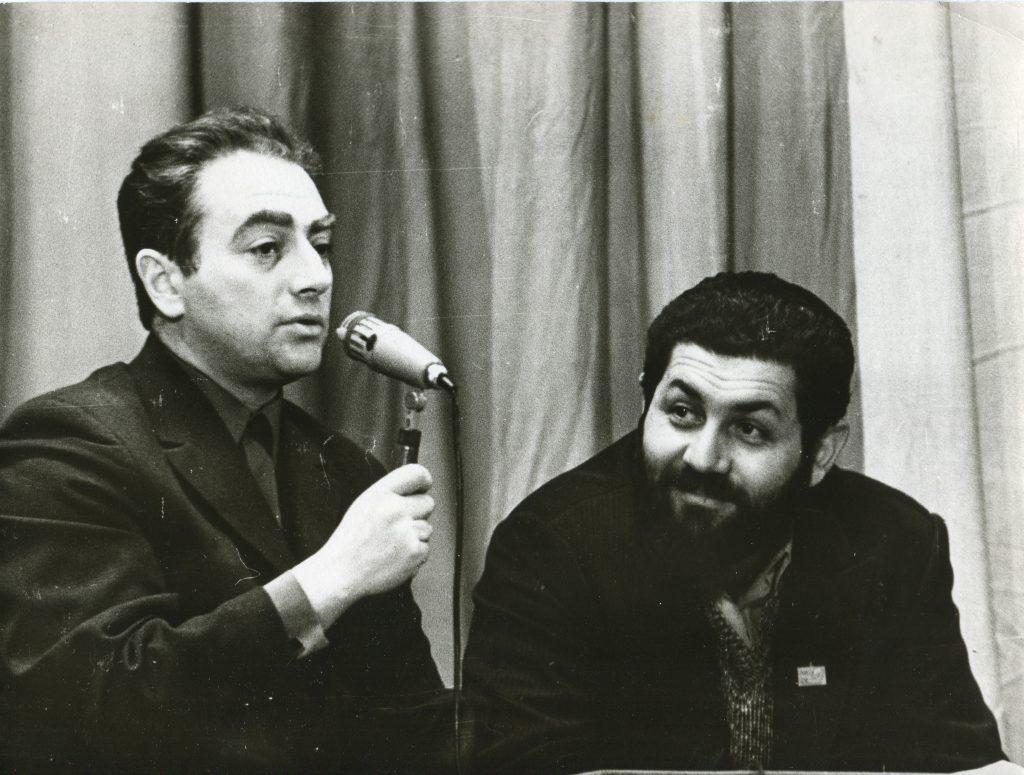 Александр Городницкий и Анатолий Силин, 1971 год