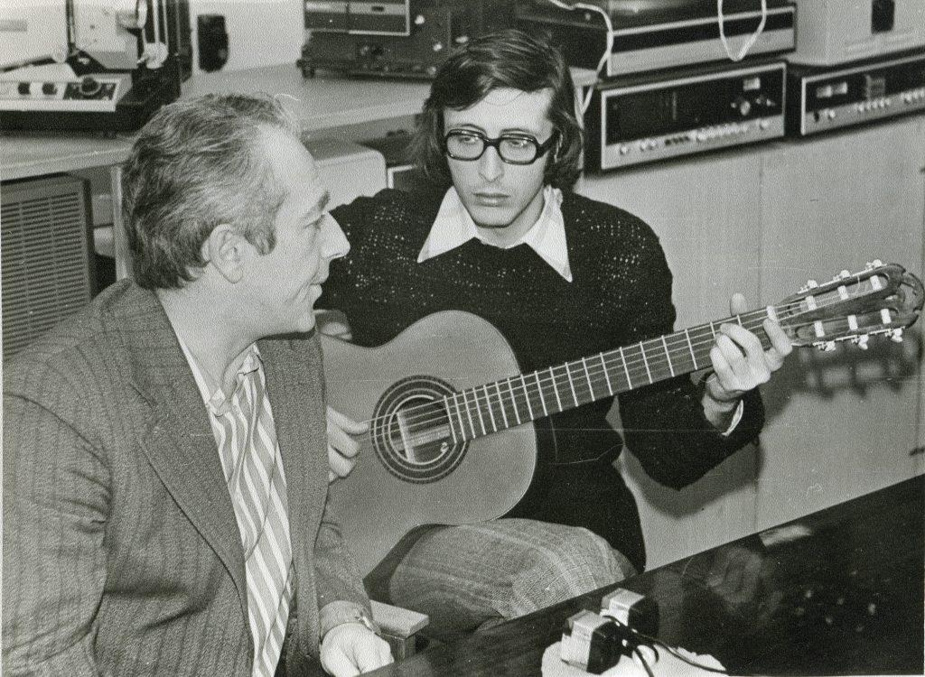На записи, Москва, 1980 год