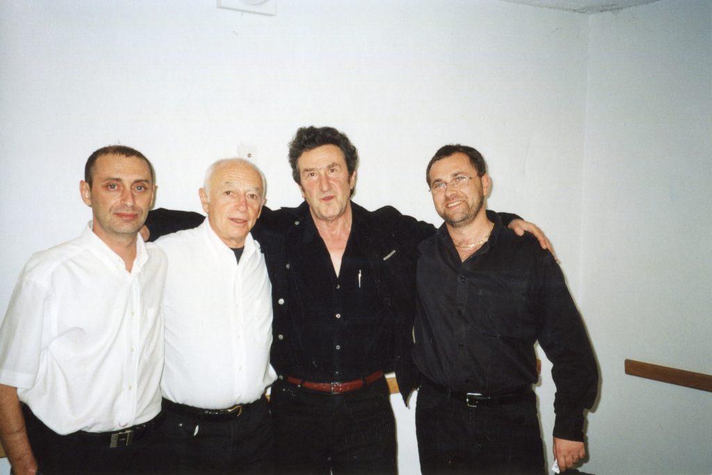 Александр Городницкий и Игорь Губерман, Израиль, декабрь 1996 года