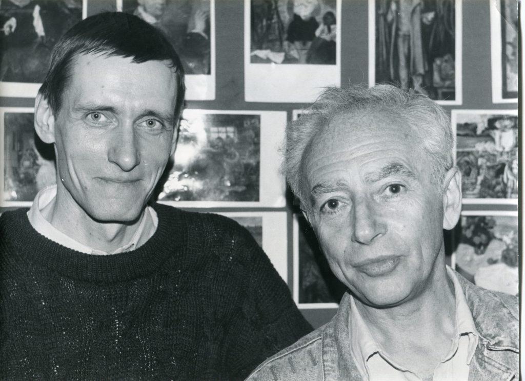 Александр Городницкий и Александр Костромин, , Центр авторской песни, Москва, 14.05.1991