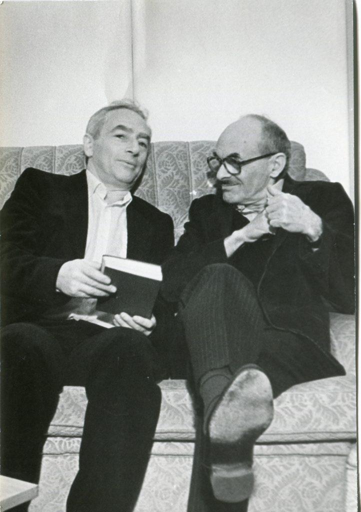 С Булатом Окуджавой, Ленинградский Дворец Молодежи, 30 сентября 1986 года