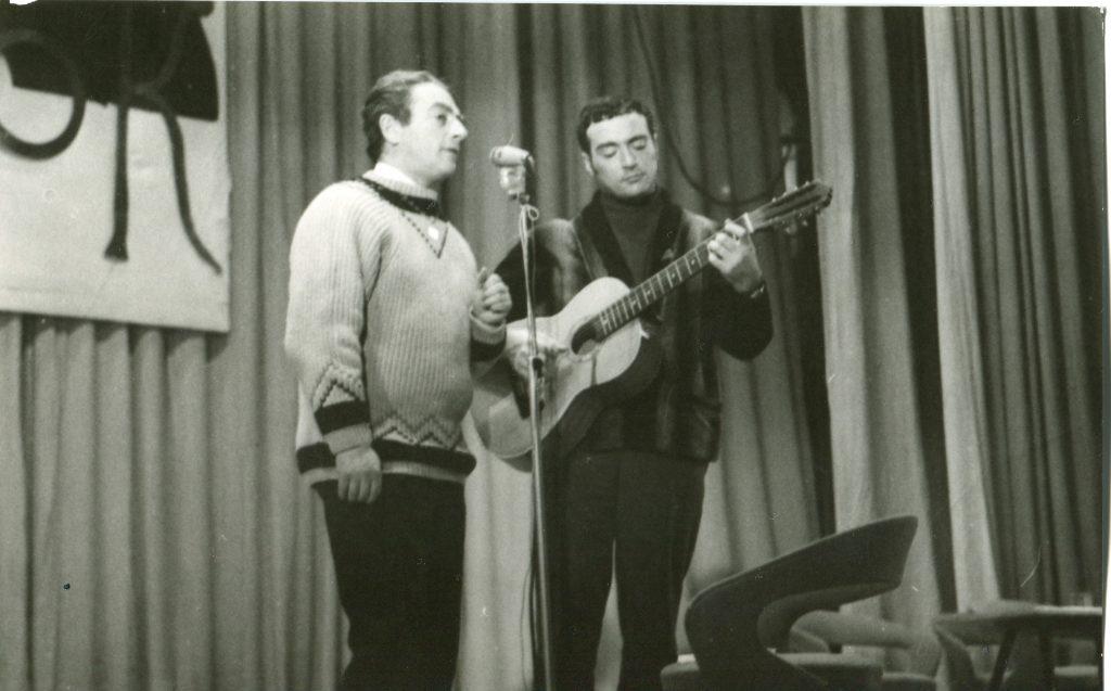 Александр Городницкий и Михаил Кане, Ленинград, 1969 год