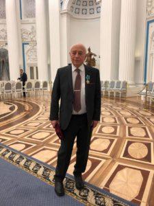 Вручение ордена ДРУЖБЫ. Москва, Кремль.10.04.2019