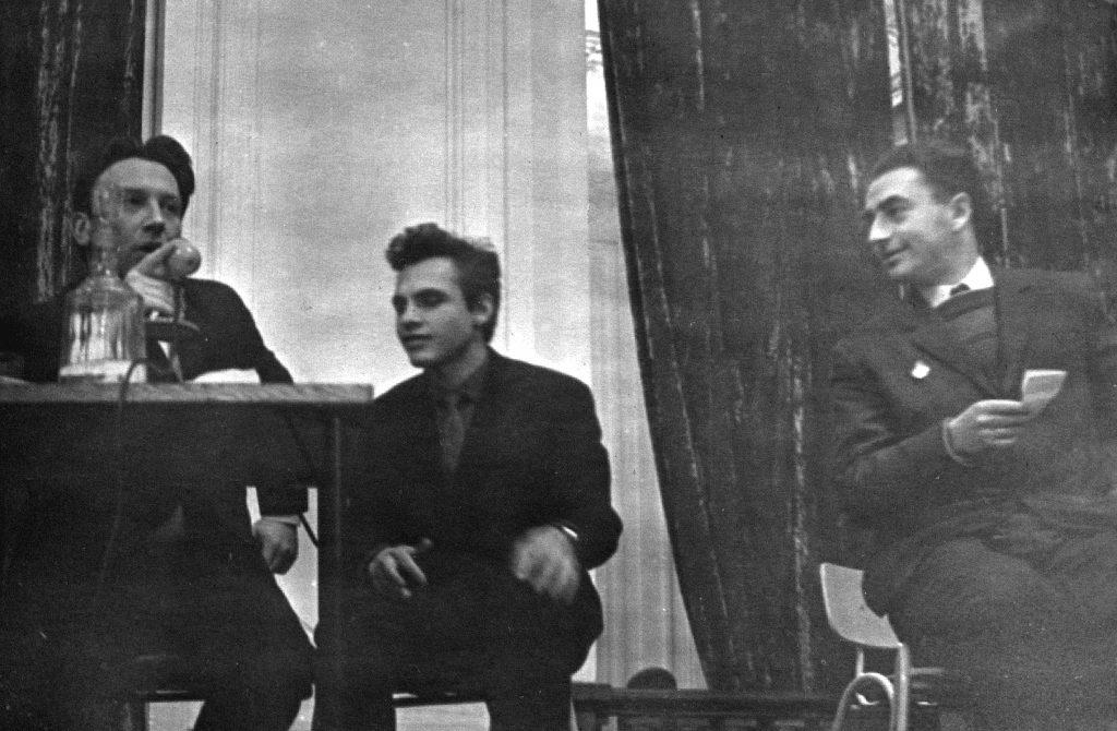 С Владимиром Фрумкиным и Евгением Клячкиным