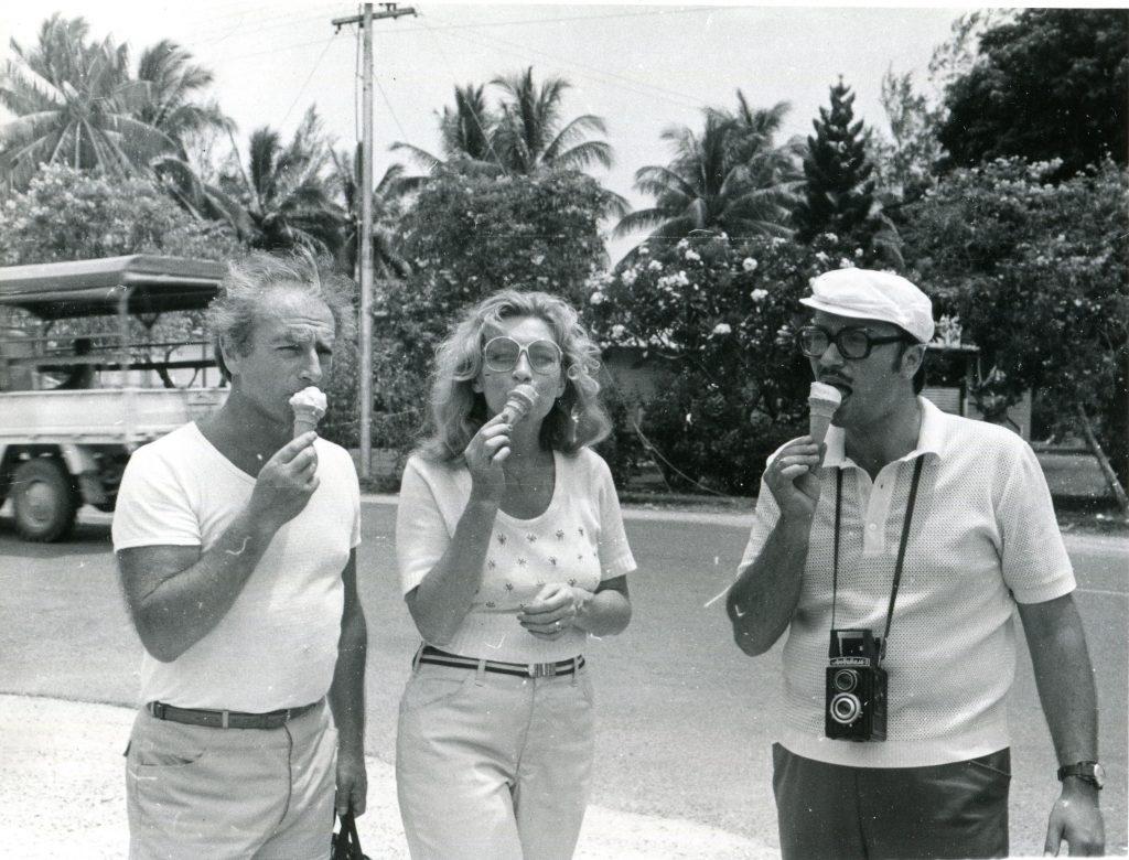 С Тамарой Щегольковой и Алексеем Сузюмовым, Новая Гвинея, 1978 год