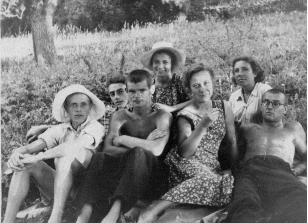 В Крыму, лето 1953 года