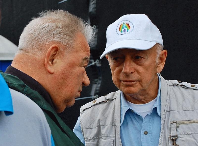 С Георгием Гречко, 2011 год