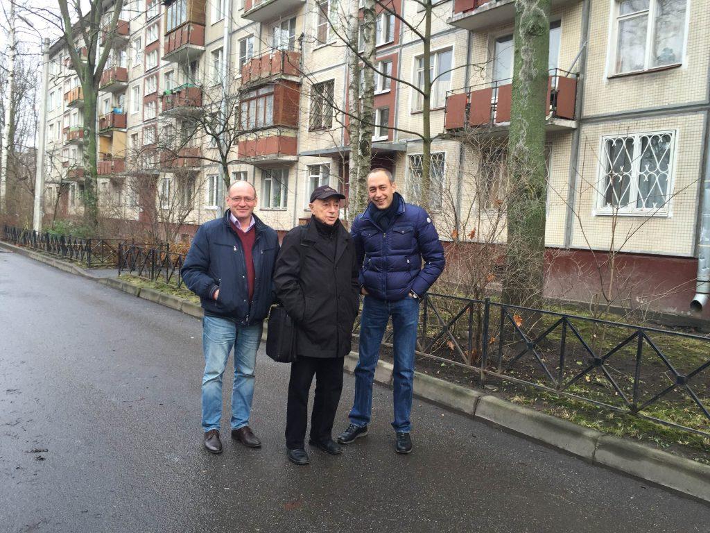 На проспекте Космонавтов, Санкт-Петербург, 2015 год