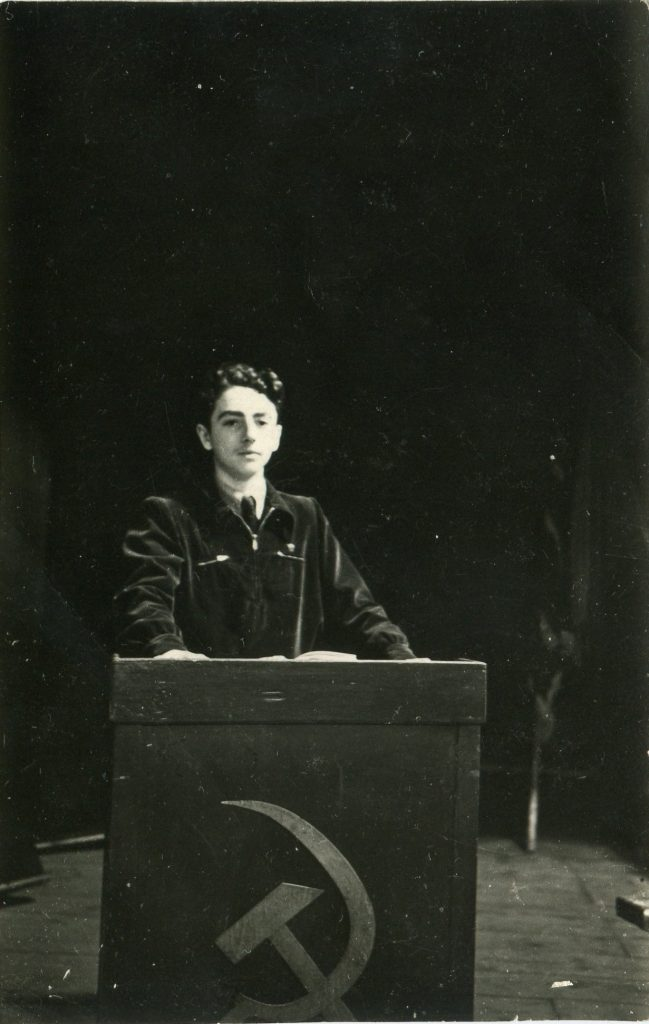 Александр Городницкий, Ленинград, 1950 год