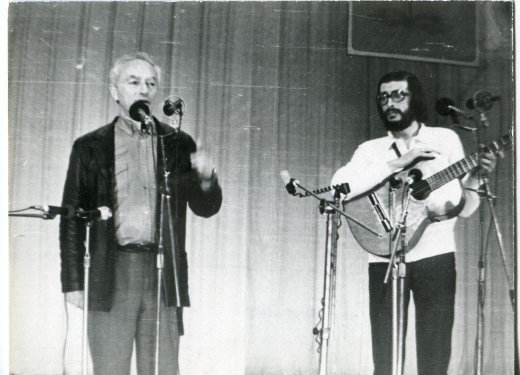 Александр Городницкий и Михаил Столяр в Саранске