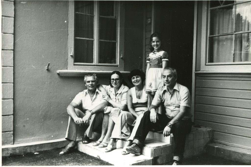С Анной Наль, Геленджик, Голубая бухта, 1984 год