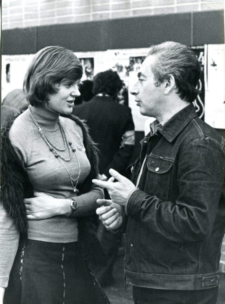 Александр Городницкий и Маша Ланская, Москва, 1978 год