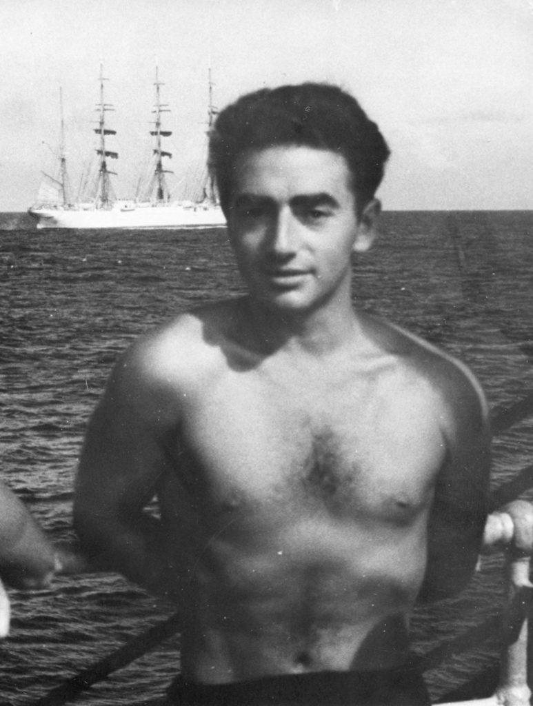 На борту ЭОС «Крузенштерн»,Северная Атлантика, 1962 год
