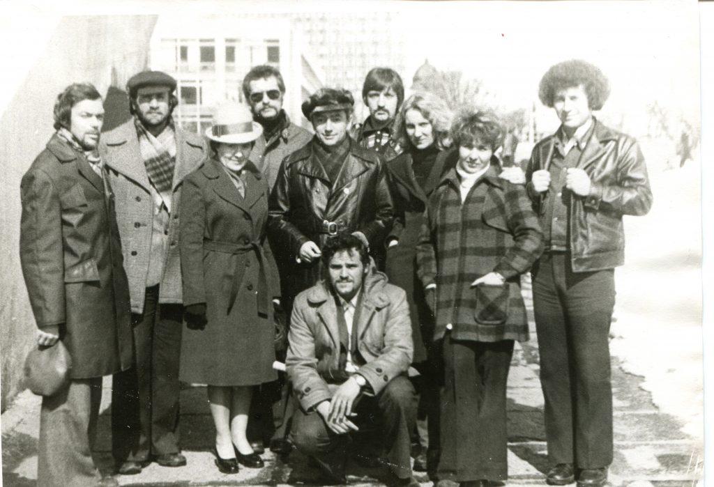 Александр Городницкий в Ульяновске, 1969 год