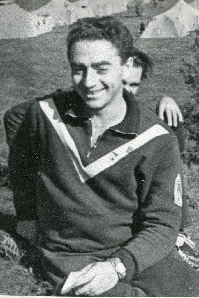 Александр Городницкий на фестивале в Бресте, 1965 год