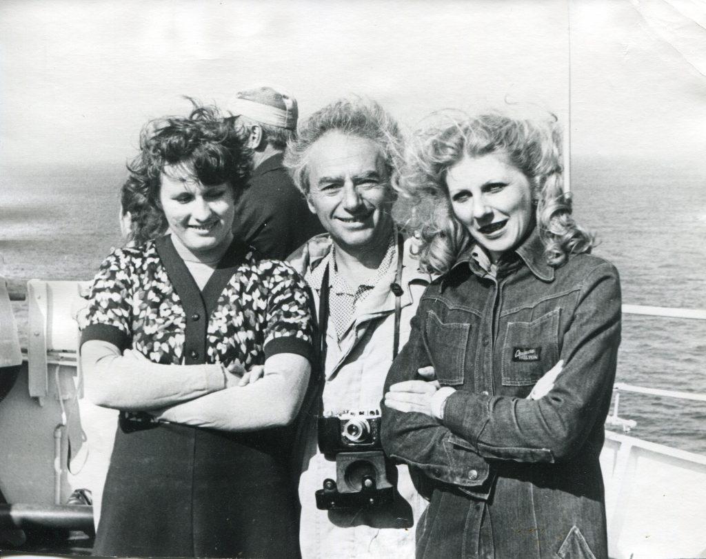 На НИС «Витязь», Средиземное море, 1982 год