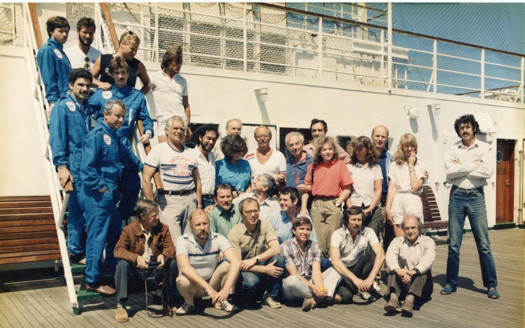 16-й рейс НИС «Академик Келдыш», Средиземное море, 1988 год