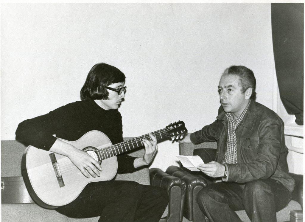 Александр Городницкий и Михаил Столяр, Москва, 1979 год