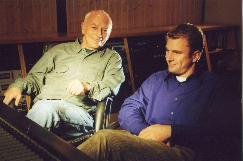 Запись диска в студии Нильса Вулькопа, Гамбург, 2000 год
