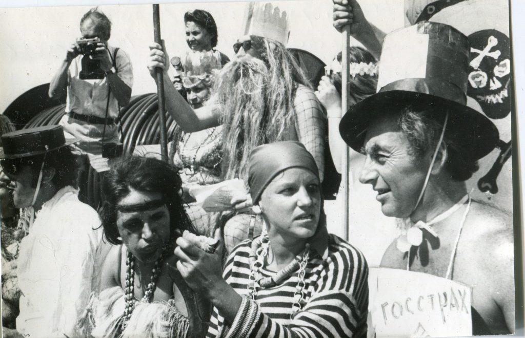 «Нептунник» на НИС «Дмитрий Менделеев», 1978 год