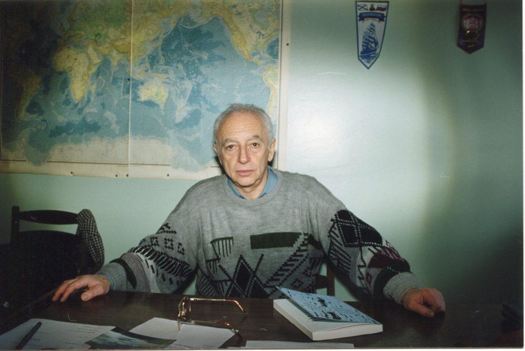 На работе. ИОРАН, Москва, 1994 год