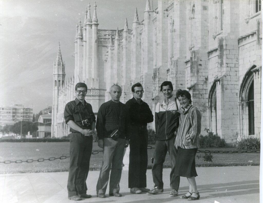 Александр Городницкий в Лиссабоне, 1986 год