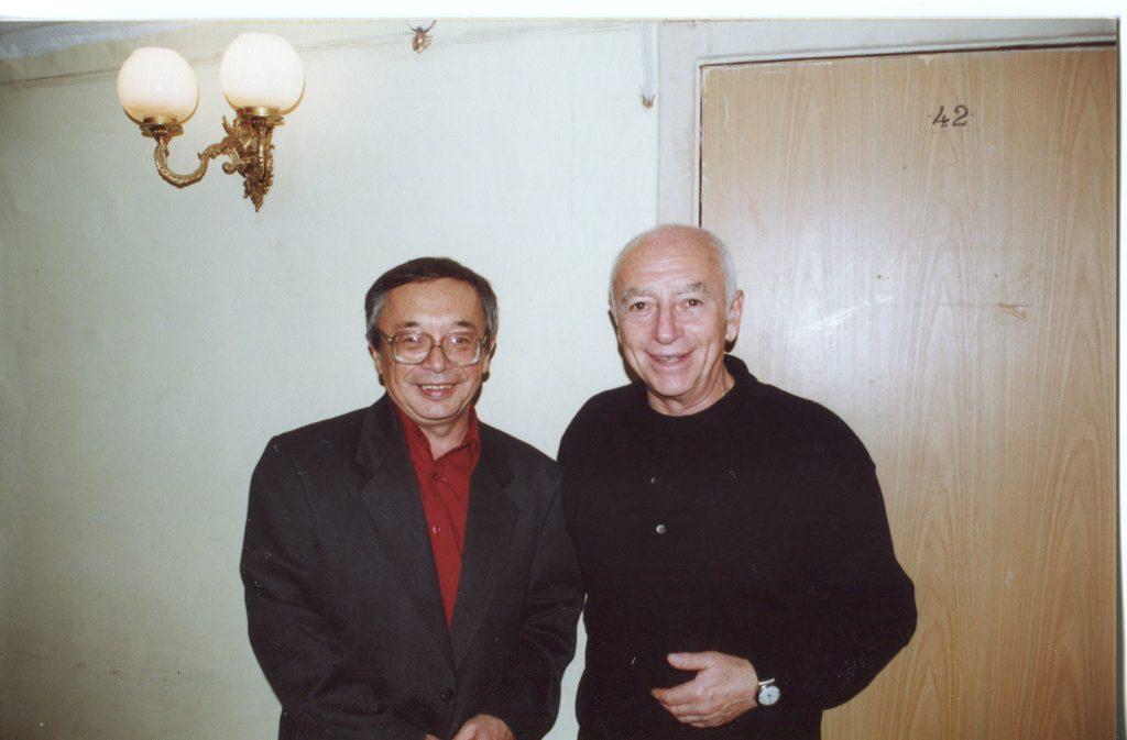С Юлием Кимом, 1998 год