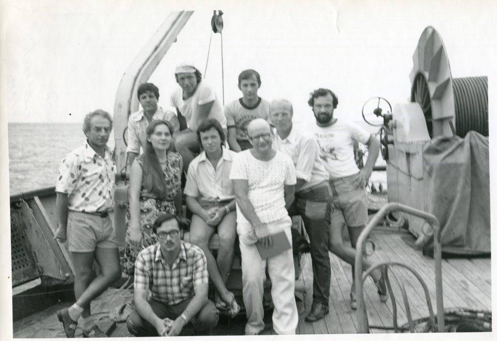 Магнитный отряд. 23 рейс НИС «Дмитрий Менделеев», 1979 год