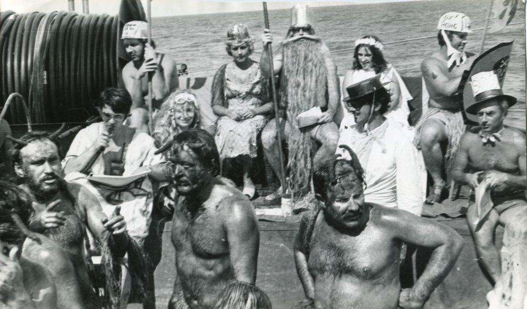 """21 рейс НИС """"«Дмитрий Менделеев», 1978 год"""