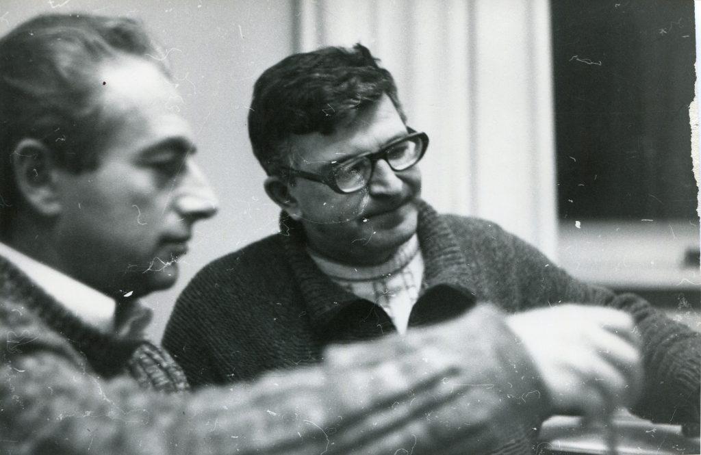С Аркадием Стругацким, 1976 год