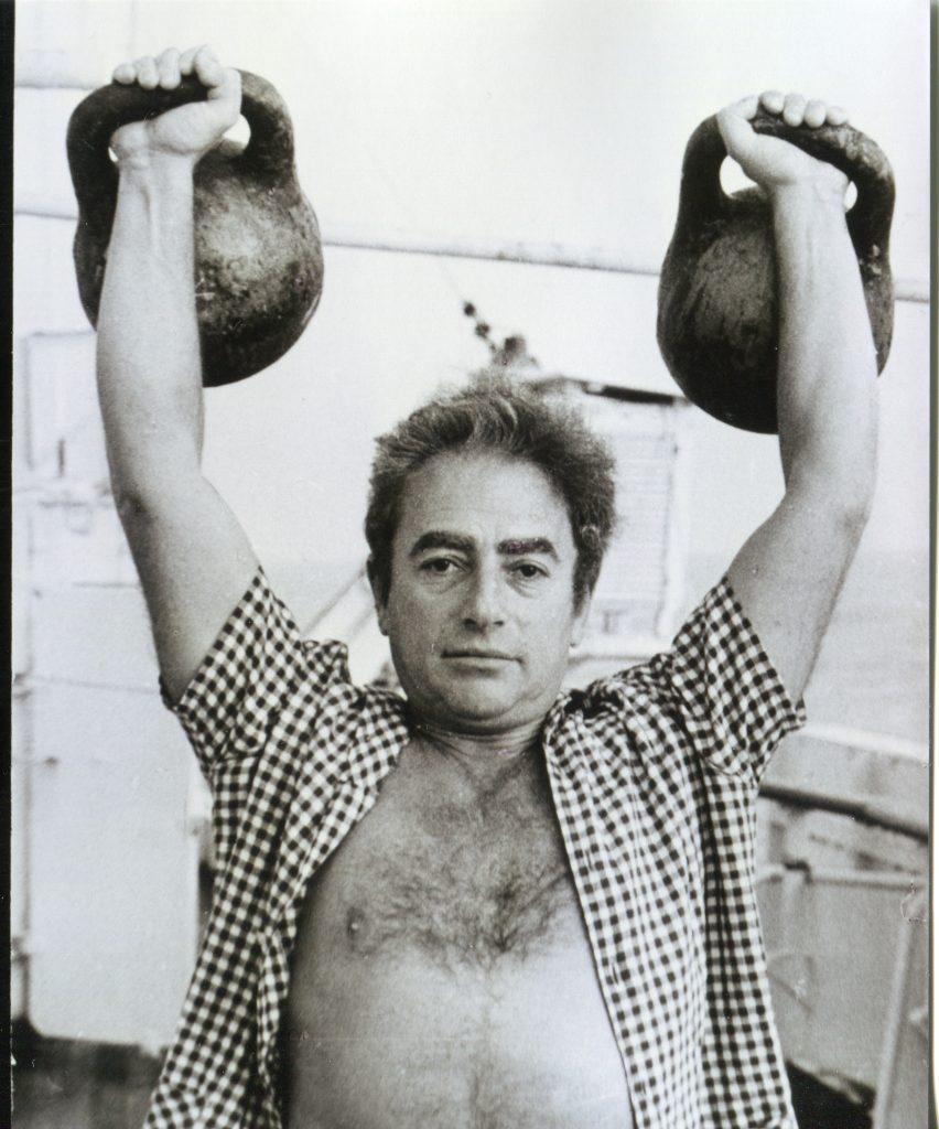 Александр Городницкий на НИС «Дмитрий Менделеев», 1978 год