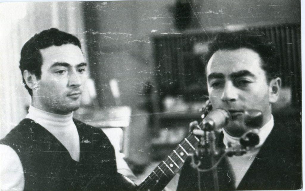 Александр Городницкий и Михаил Кане, Ленинград, 1965 год